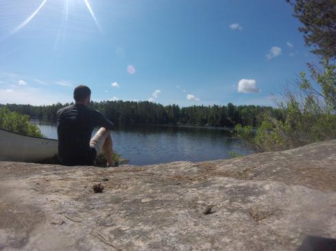 The view on Sunbeam Lake