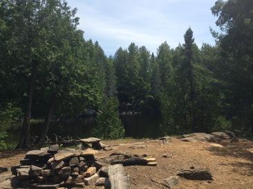 Honeymoon Site on Head Lake