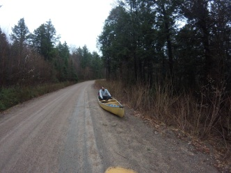 Another thing canoes don't work great on.