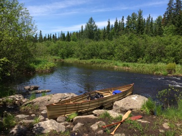 A Backcountry Canoe in the Back Country