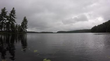Coming into Tim Lake. Hi.