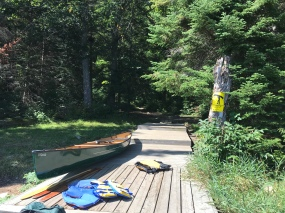 I wish all portages started with a dock.