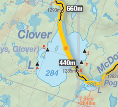 clover lake numbered