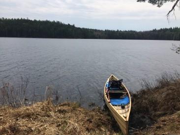 The canoe landing. Nice.