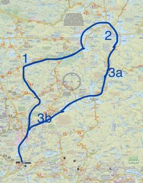 Big Trout Route