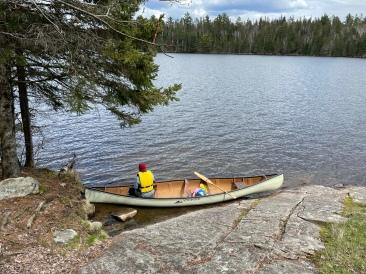 Canoe Loading Area
