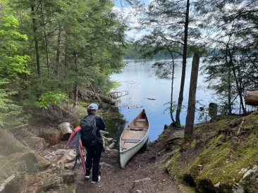 The Sproule end of the Sunday/Sproule portage