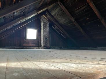 The upstairs.