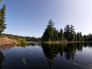 Passing through Fawn Lake