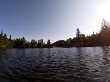 The Joe Lake bridge