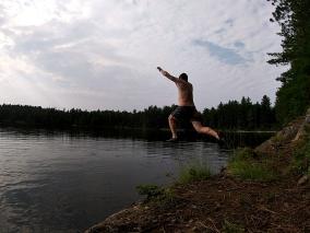 Jumping Tom Thomson