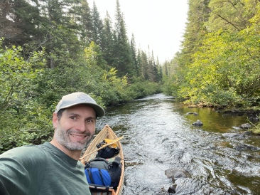 Bypassing the portage and happy about it