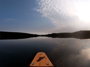 Flat water on Islet