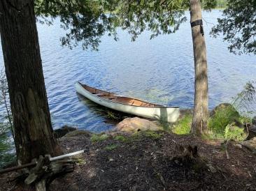 The canoe landing